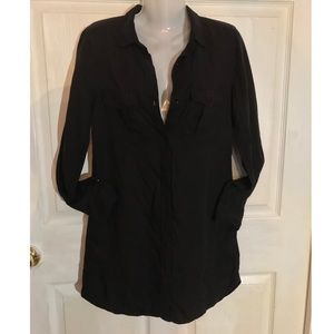 Black H&M Button Up Dress NWOT